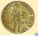 Holland 1 ducat 1753