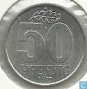 Monnaies - RDA - RDA 50 pfennig 1971