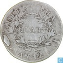 France 1 quart AN 12 (I - NAPOLEON EMPEREUR)