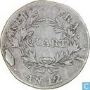 France 1 quart AN 12 (I)