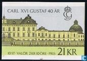 Carl XVI Gustaf 40 années