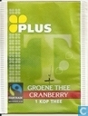 Groene Thee Cranberry