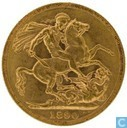 United Kingdom 1 sovereign 1890