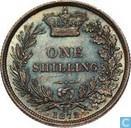 UK 1 shilling 1872