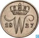 Niederlande 10 cent 1827 U