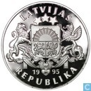 "Latvia 1 lats 1995 ""50 years UN"""