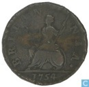 United Kingdom 1 farthing 1754
