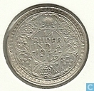 Monnaies - Inde britannique - Inde britannique ¼ rupee 1944 (Bombay)