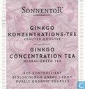 8 GINKGO KONZENTRATIONS-TEE
