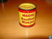 Maggi's bouillon blokjes (25 blokjes a 3 gram)