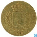 Frankrijk 20 francs 1814 (A)