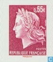 Briefmarke Designs 5. Republik