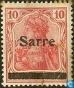 "Germania 'Peace Print', marked ""Sarre"""
