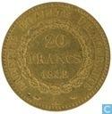 France 20 francs 1849