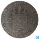 Netherlands 2½ gulden 1847