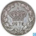 Rumänien 50 Bani 1873
