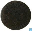 Frankrijk 4 deniers 1697 BB