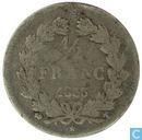 Frankrijk ½ franc 1833 (T)