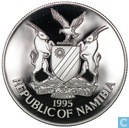 "Namibië 10 dollars 1995 (PROOF) ""50th Anniversary of the United Nations"""