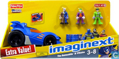 Imaginext DC Superfriends Batmobile & Villains