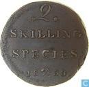 Norvège 2 skilling 1833