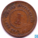 Straits Settlements 1 cent 1906