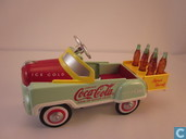 Pedal car train accessory 'Coca-Cola'