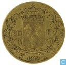 Frankrijk 20 francs 1818 (A)