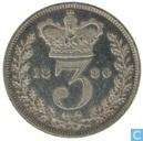 UK 3 Pence 1880