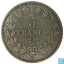 Frankrijk 5 francs 1871 (Ceres)