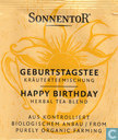 19 GEBURTSTAGSTEE Kräuterteemischung | HAPPY BIRTHDAY Herbal Tea Blend