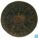 Irlande 1690 1 shilling