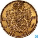 20 lei 1883 Romania