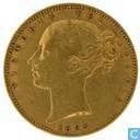 United Kingdom 1 sovereign 1863