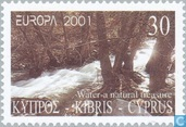 Postage Stamps - Cyprus [CYP] - Europe – Water, treasure of nature
