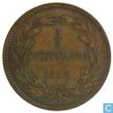 Venezuela 1 / 2 Centavo 1843