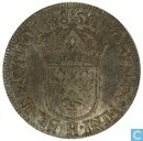 France 1 écu 1648 H