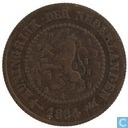 Pays-Bas ½ cent 1884