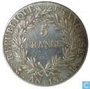 Frankrijk 5 francs AN 13 (L)