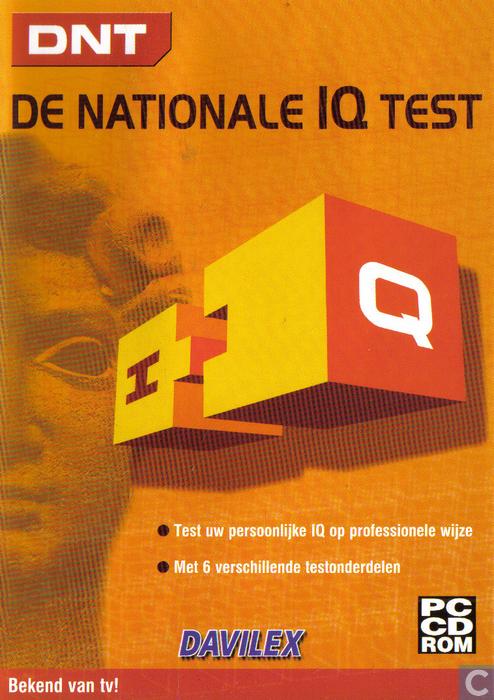 De nationale IQ test - PC - Catawiki