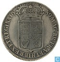 Royaume Uni ½ crown 1689