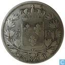 France 5 francs 1827 (T)