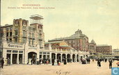 Boulevard met Palace Hotel,Oranje Gallerij en Kurhaus