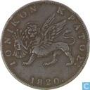 Ionische Eilanden 2 lepta 1820
