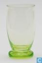 Glas / kristal - Kristalunie - Brandy Likeurstel vert-chine