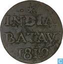 Nederlands-Indië ½ stuiver 1819