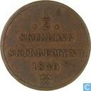 Norvège ½ skilling 1840