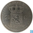Netherlands 2 ½ gulden 1848