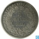 France 5 francs 1849 (BB - Ceres)