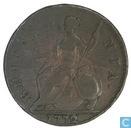 Royaume Uni ½ penny 1772